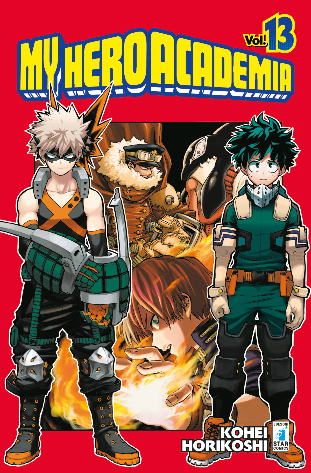 My Hero Academia n.13 – Dragon 237