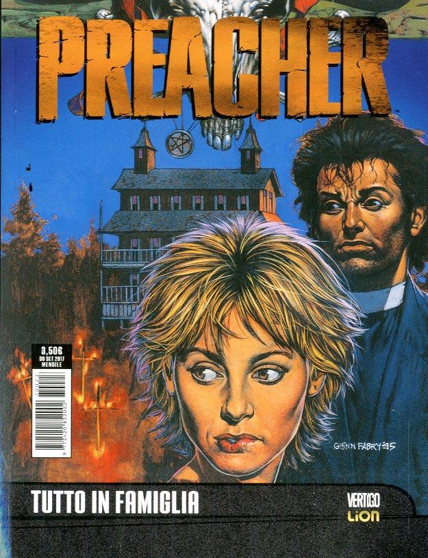 Copertina di Preacher n.3 – Tutto In Famiglia – DC Black White 23