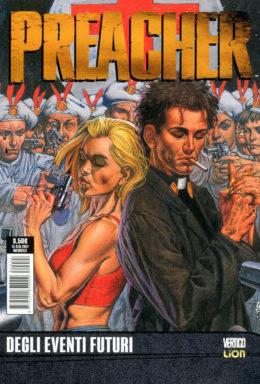 Copertina di Preacher n.7 – Degli eventi futuri – DC Black & White 27