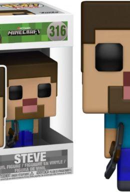 Copertina di Minecraft – Steve – Funko Pop Vinil n.316