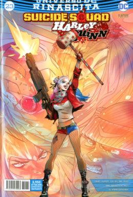 Copertina di Suicide Squad/Harley Quinn n.23 – Rinascita