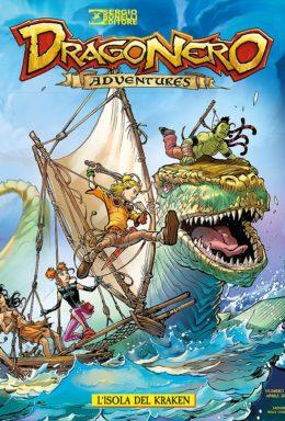 Copertina di Dragonero Adventures n.6 – L'isola del Kraken