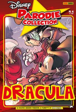 Copertina di Dracula Di Bram Topker – Parodie Disney Collection n.4