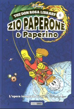 Copertina di Don Rosa Library n.6 – Zio Paperone e Zio Paperino