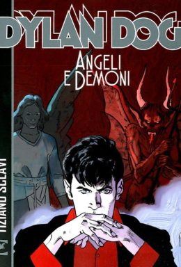 Copertina di Dylan Dog – Angeli E Demoni