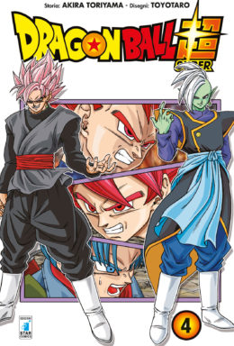 Copertina di Dragon Ball Super n.4