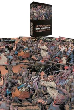 Copertina di The Walking Dead – Guerra ai Sussurratori Pack