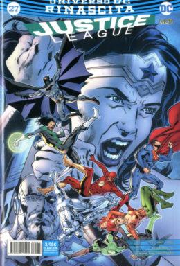 Copertina di Justice League n.27 – Rinascita – Serie Regolare 85