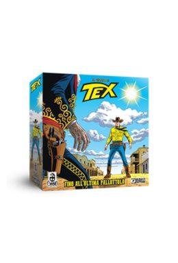 Copertina di Tex Fino All'ultima Pallottola – Gioco da Tavola Ufficiale