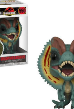 Copertina di Jurassic Park – Dilophosaurus – Funko Pop 550