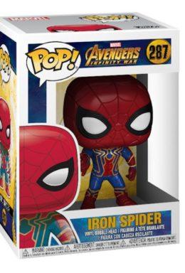 Copertina di Avengers – Infinity War – Iron Spider – Funko Pop 287