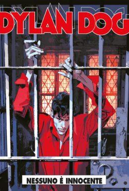 Copertina di Dylan Dog n.380 – Nessuno è innocente