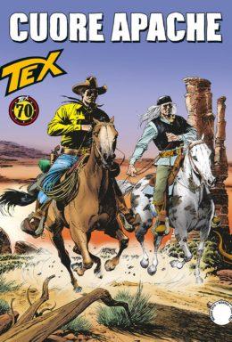 Copertina di Tex n.691 – Cuore Apache