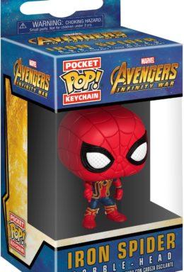 Copertina di Funko Pocket Pop! di Avengers – Infinity War – Iron Spider