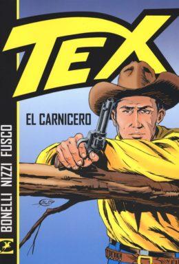 Copertina di Tex – El Carnicero