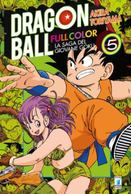 Copertina di Dragon Ball Full Color n.5 – La saga del giovane Goku (5 di 8)