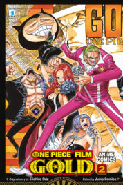 One Piece Gold Anime Comics n.2