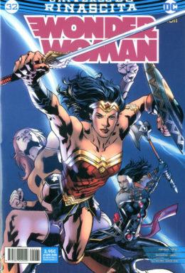 Copertina di Wonder Woman Rinascita n.32