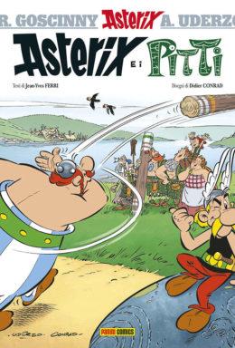 Copertina di Asterix e i Pitti – numero 35 della serie