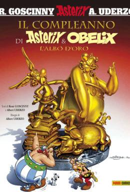 Copertina di Asterix – Il Compleanno di Asterix e Obelix – numero 34 della serie