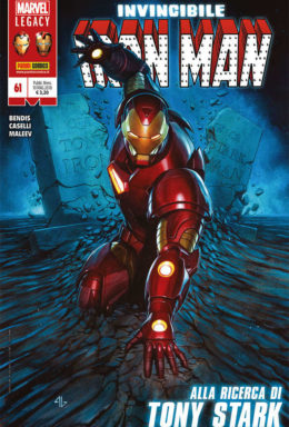 Copertina di Iron Man n.61 – Marvel Legacy Invincibile Iron Man