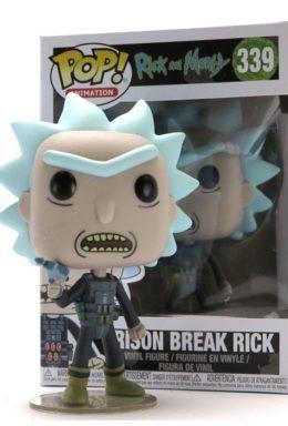 Copertina di Rick & Morty – Prison Escape Rick – Funko Pop 339