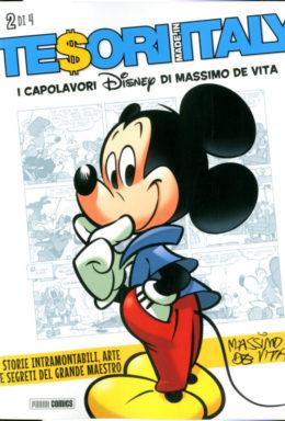 Copertina di Tesori Made In Italy n.2 di 4 – I capolavori Disney di Massimo De Vita