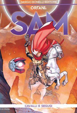 Copertina di Orfani Stagione 6 – Sam n.3 – Cavalli e segugi