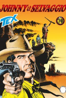 Copertina di Tex n.692 – Johnny il selvaggio
