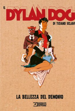 Copertina di Il Dylan Dog di Tiziano Sclavi n.14 – La bellezza del demonio