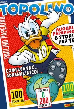 Copertina di Topolino n.3263 – 6 Giugno 2018