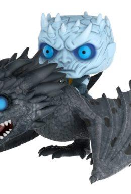 Copertina di Game of Thrones – Night King On Dragon – Funko Pop 58