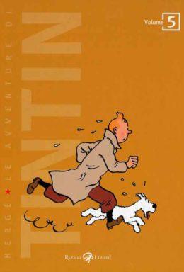 Copertina di Le Avventure Di Tintin n.5 – Il tesoro di Rackham il rosso