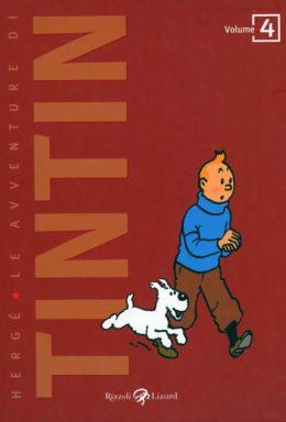 Copertina di Le Avventure Di Tintin n.4 – Il granchio d'oro