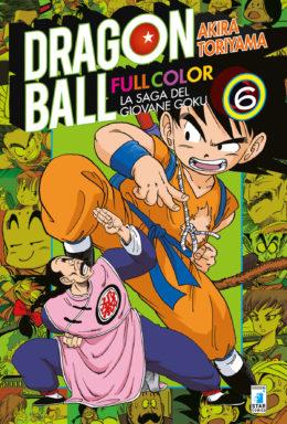 Copertina di Dragon Ball Full Color n.6 – La saga del giovane Goku (6 di 8)