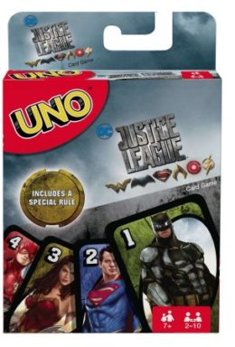 Copertina di Justice League – Uno Card Game – English Versione