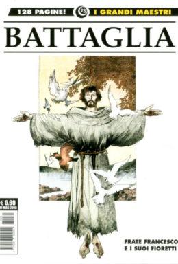 Copertina di Dino Battaglia – Francesco D'assisi – Grandi Maestri n.23