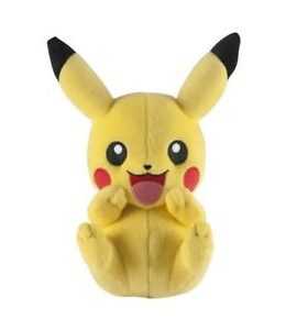 Copertina di Pokemon Pikachu Laughing Plush 20cm