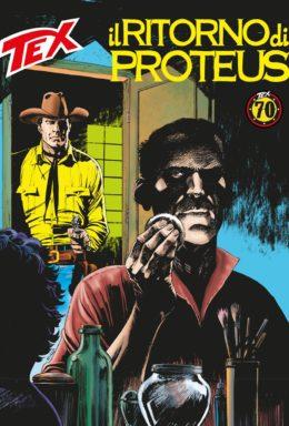 Copertina di Tex n.693 – Il ritorno di Proteus