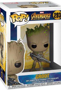 Copertina di Avengers Infinity War – Groot – Funko Pop n.293