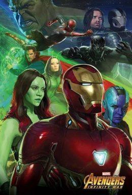 Copertina di Avengers Infinity Wars – Poster Iron Man