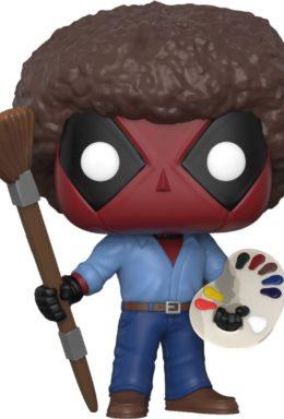 Copertina di Deadpool – Parody Deadpool of Bob Ross – Funko Pop 319
