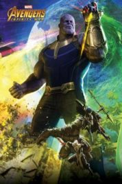 Avengers Infinity Wars – Poster Thanos