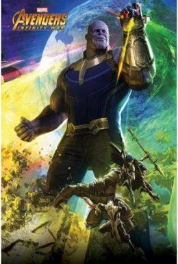 Copertina di Avengers Infinity Wars – Poster Thanos