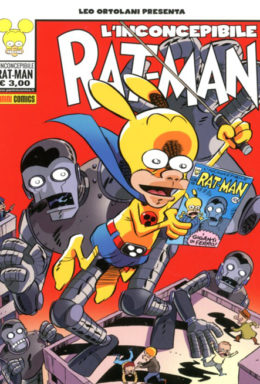 Copertina di Inconcepibile Rat-Man!