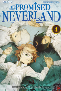 Copertina di The Promised Neverland n.4