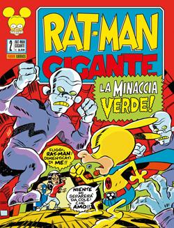 Copertina di Rat-Man Gigante n.2 – La minaccia verde