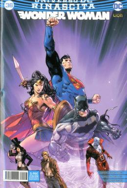 Copertina di Wonder Woman Rinascita n.36 – Serie Regolare 68