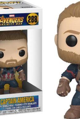 Copertina di Avengers Infinity War – Captain America – Funko Pop 288