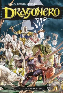 Copertina di Dragonero n.62 – Il Giorno degli Eroi